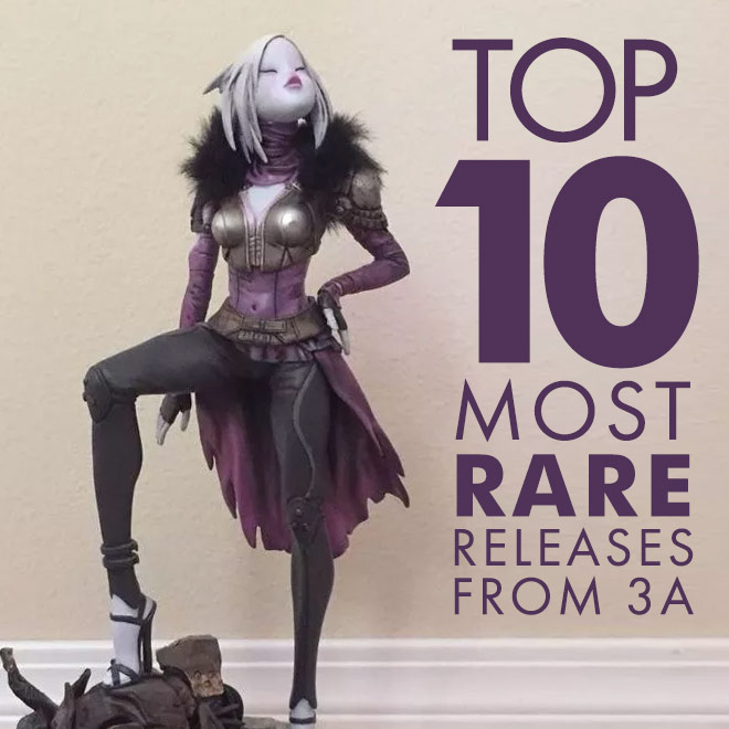 10 Most Rare Releases From 3a Toys