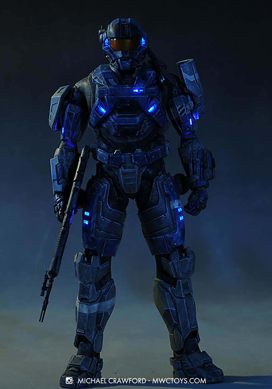 HALO Commander Carter A259