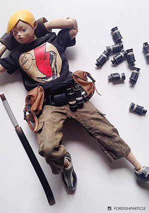 6th TK - Tsuitachi Ni Ushinawa (Yellow Hair + Black Shirt) - POP - Ashley Wood