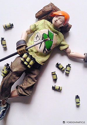 6th TK - Tsuitachi No Ato (Orange Hair + Green Shirt) - POP - Ashley Wood