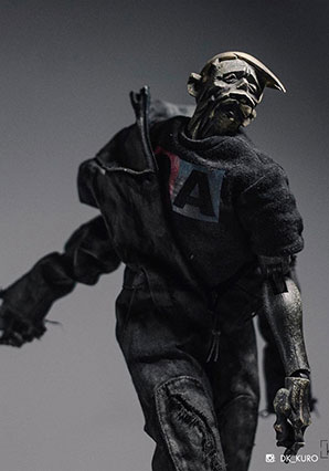 Acolyte Zomb Black Boiler Suit by Ashley Wood, 3A Toys