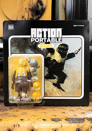 Action Portable Pudding Boss by Ashley Wood, 3A Toys