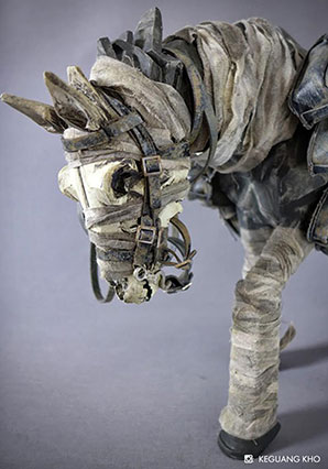 Dark Ghost Horse - POP - Ashley Wood