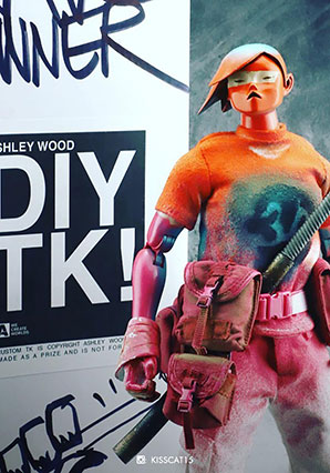 DIY TK (Hand Painted by Ashley Wood) - POP - Ashley Wood