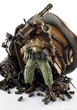 EDO Bronze Commander - POP - Ashley Wood