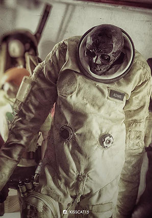 EVENFALL STRIGOI MOONBASE OMEGA COMMANDER ASTRONAUT - EVF - Ashley Wood