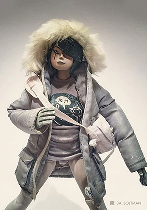 Flakey Frost by Ashley Wood, 3A Toys