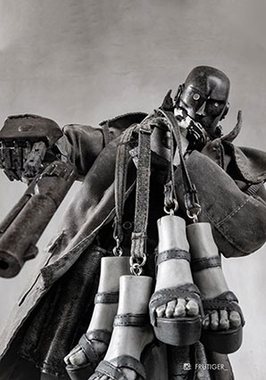 Foot Cutter Cowbot - IP - Ashley Wood