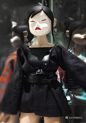 Geisha TQ Desukisu - POP - Ashley Wood