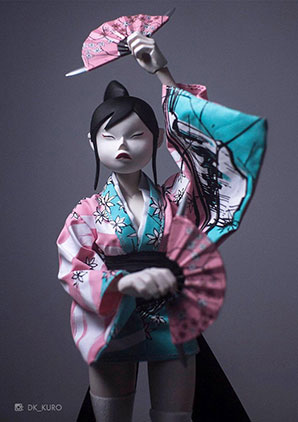 Geisha TQ Kibo No Hoshi - POP - Ashley Wood