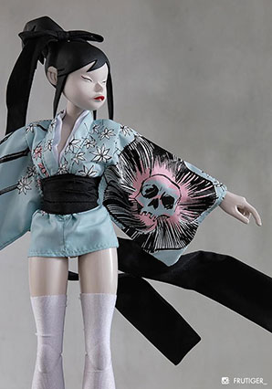 Geisha TQ Utsukushi Hoshi - POP - Ashley Wood