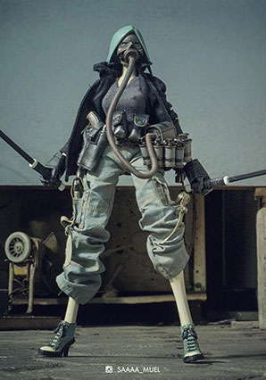 Hoaxer One Irimi - POP - Ashley Wood