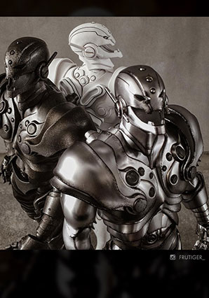 Ultron Classic Edition by Ashley Wood, 3A Toys