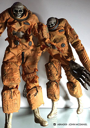EVENFALL STRIGOI MOONBASE OMEGA ASTRONAUT SET - EVF - Ashley Wood