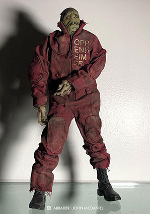 OPPENHEIMER GID ZOMB by Ashley Wood, 3A Toys