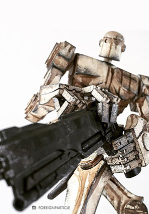 Popbot Ascended the White - POP - Ashley Wood