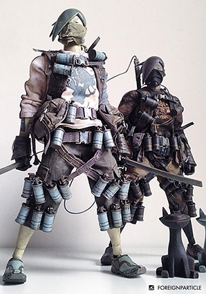 Seven Bones TK Slicer Kureiji Yaro - POP - Ashley Wood