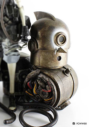 Soot Diver - POP - Ashley Wood