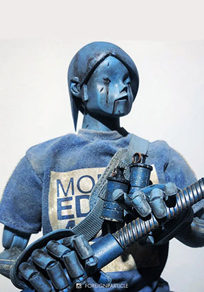 EDO Blue Commander - POP - Ashley Wood