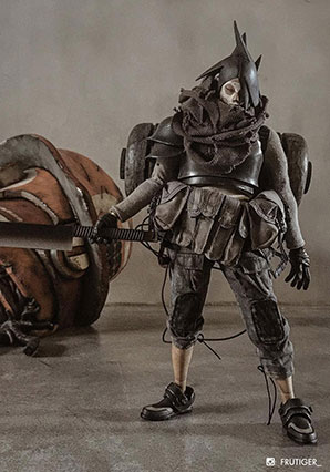 Heavy Duty Slicer Death Mask Nothing - POP - Ashley Wood