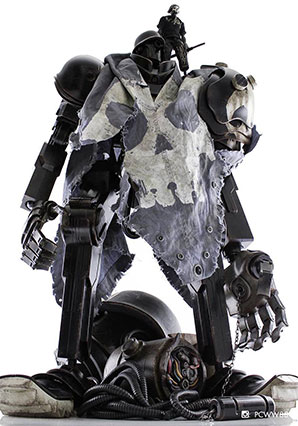 TK Hunter MK6 Death Mask Hack - POP - Ashley Wood