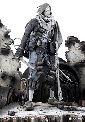 TK Tomb Diver Interloper Baka Tsuri - POP - Ashley Wood