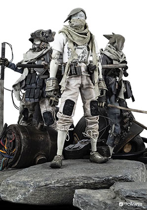 TK Tomb Diver 3 Pack - POP - Ashley Wood