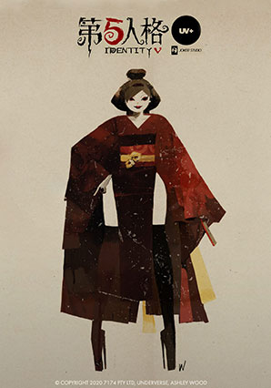 Identity V Geisha Michiko - IDV - Identity V, Joker Studio and Ashley Wood