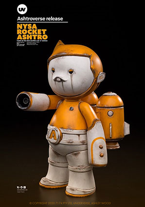Ashtro Lad NYSA Rocket - ASHTRO - Ashley Wood