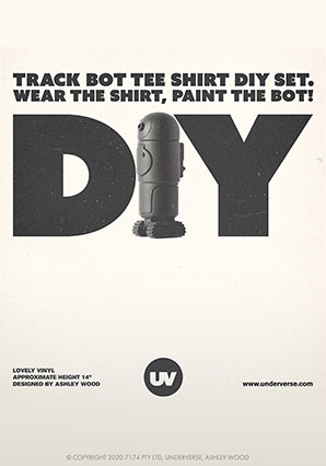 WWR2 Trackbot DIY Coal - WBR - Ashley Wood