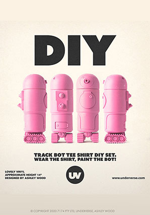 WWR2 Trackbot DIY Pinky - WBR - Ashley Wood
