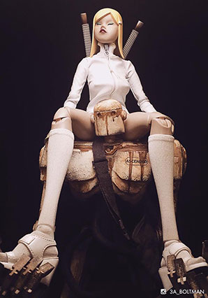 Yesterday Princess (RVHK Exclusive) - POP - Ashley Wood